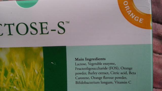 Elken MRT Fujita Lactose-S Ingredients