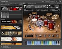 Studio Drummer KONTAKT Library