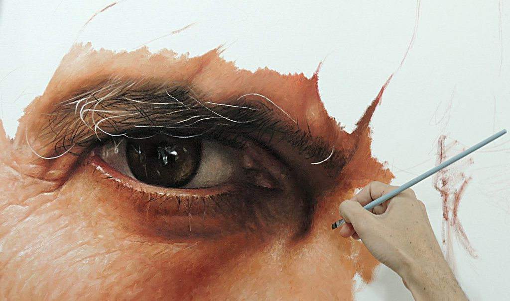 how to paint realistically with oil