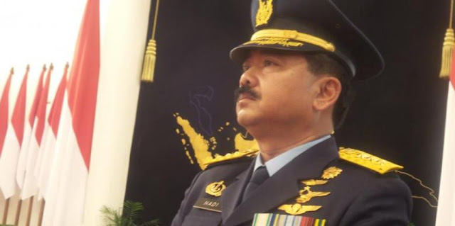 Gatot Nurmantyo Pensiun, Marsekal Hadi Tjahjanto jadi Calon Tunggal Panglima TNI