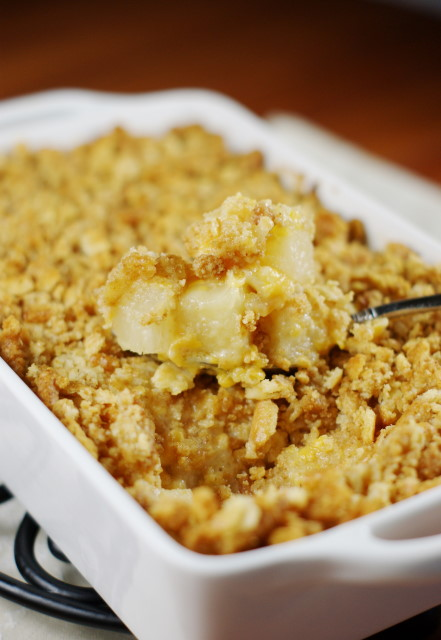 Classic Pineapple Casserole The Kitchen Is My Playground