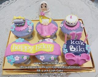 Cupcake Ulang Tahun Anak Perempuan