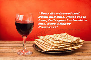 Passover 2018 messages