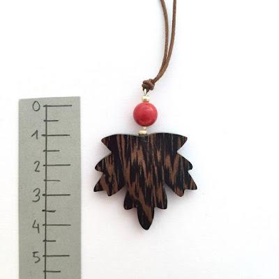 joyas de madera artesanal wengue aclamader