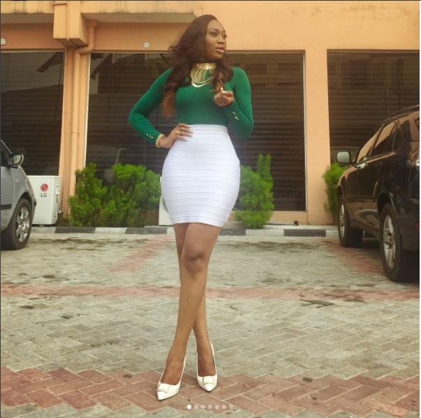 Most Curvy Nigerian Female Celebrities