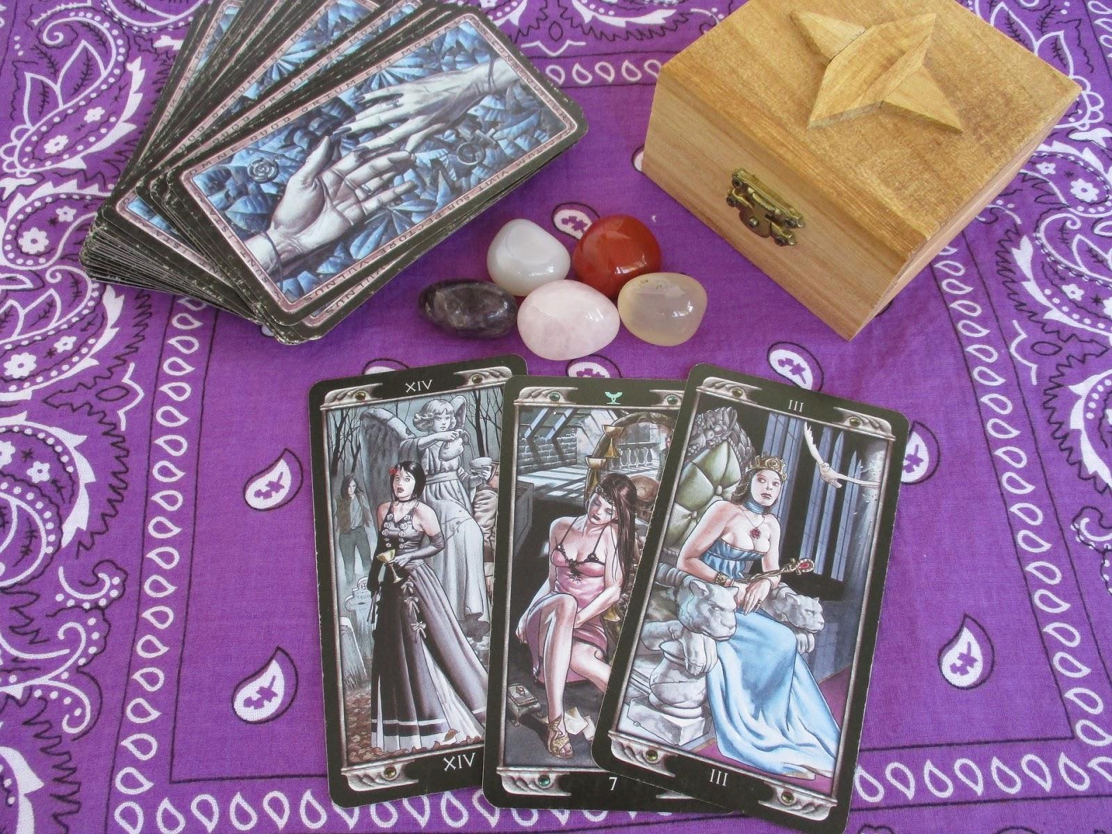 3-Card Tarot Spreads - Rainy Day Tarot