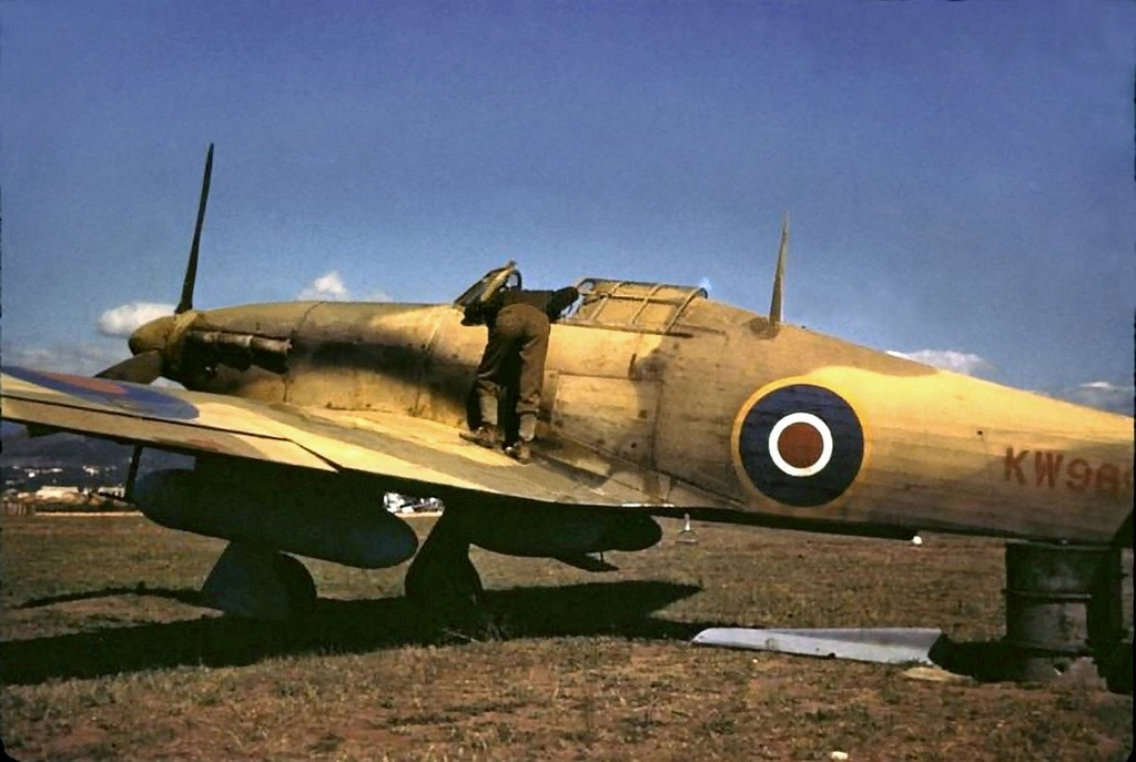 color photos of british aircrafts in wwii vintage everyday