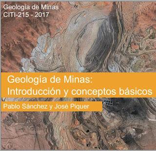 geología de minas - Introduccion y sus conceptos básicos | geolibrospdf