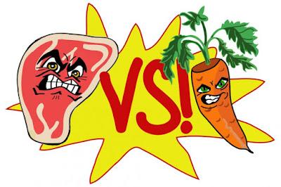 carne vs vegatale