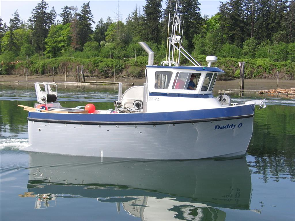 Alaskan pleasure tug