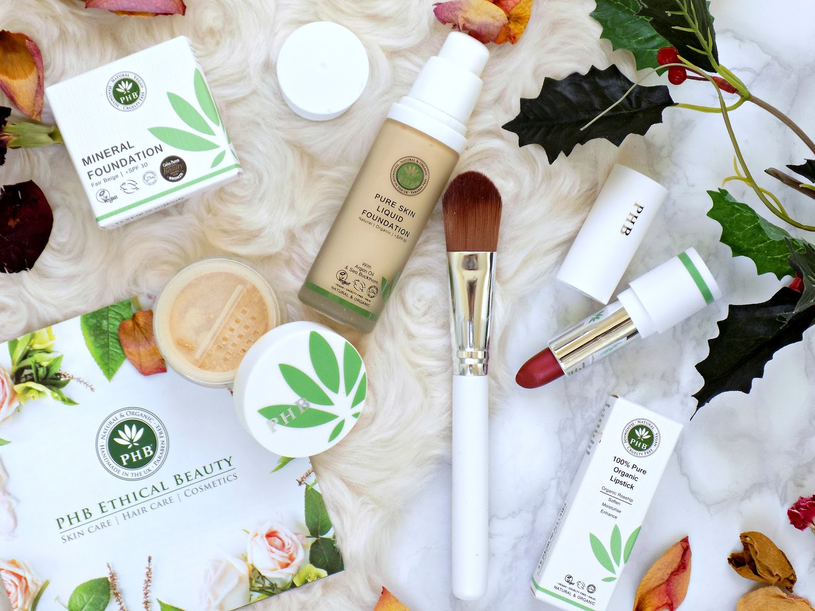 PHB Ethical Beauty makeup products