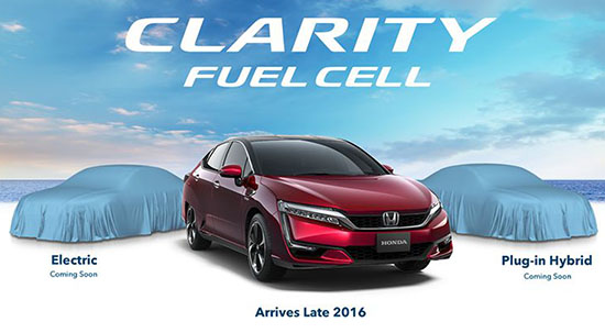 Honda Clarity Ev And Plug In Hybrid Coming Up