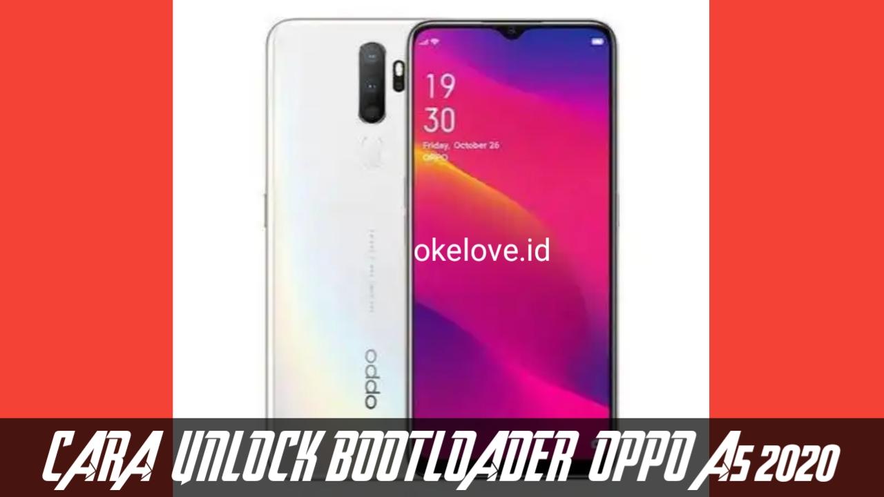Cara Unlock Bootloader OPPO A5 2020