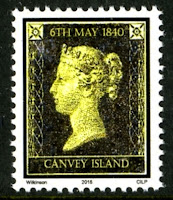 CILP 'Penny Black' stamp