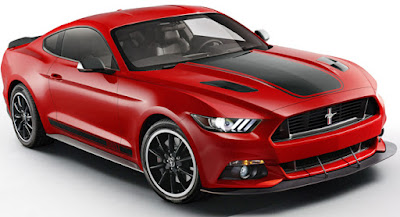 Ford Mustang GT convertible front look Hd picture