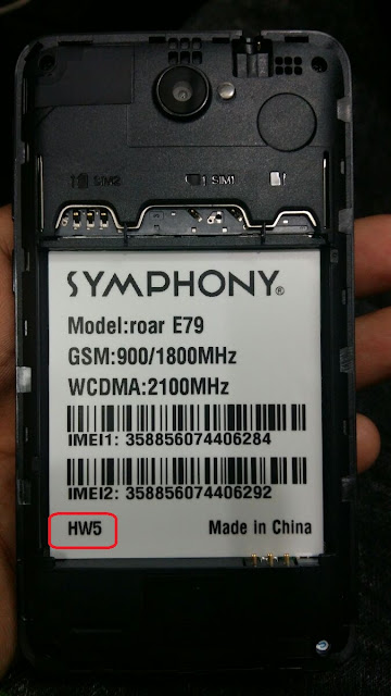 Symphony E79 HW5 Flash File Without Password