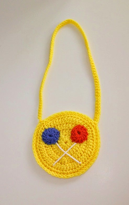 Lollipop Purse in Crochet