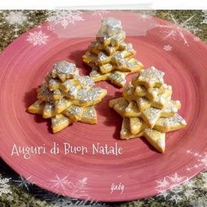 Biscotti alla panna... decorati per Natale