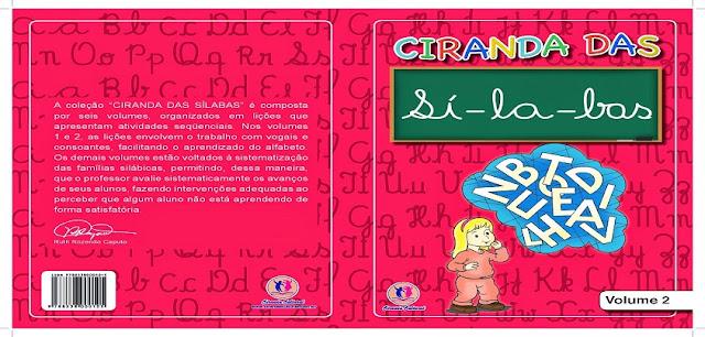 BAIXE EM PDF - CIRANDA DAS SÍLABAS - VOLUME 2