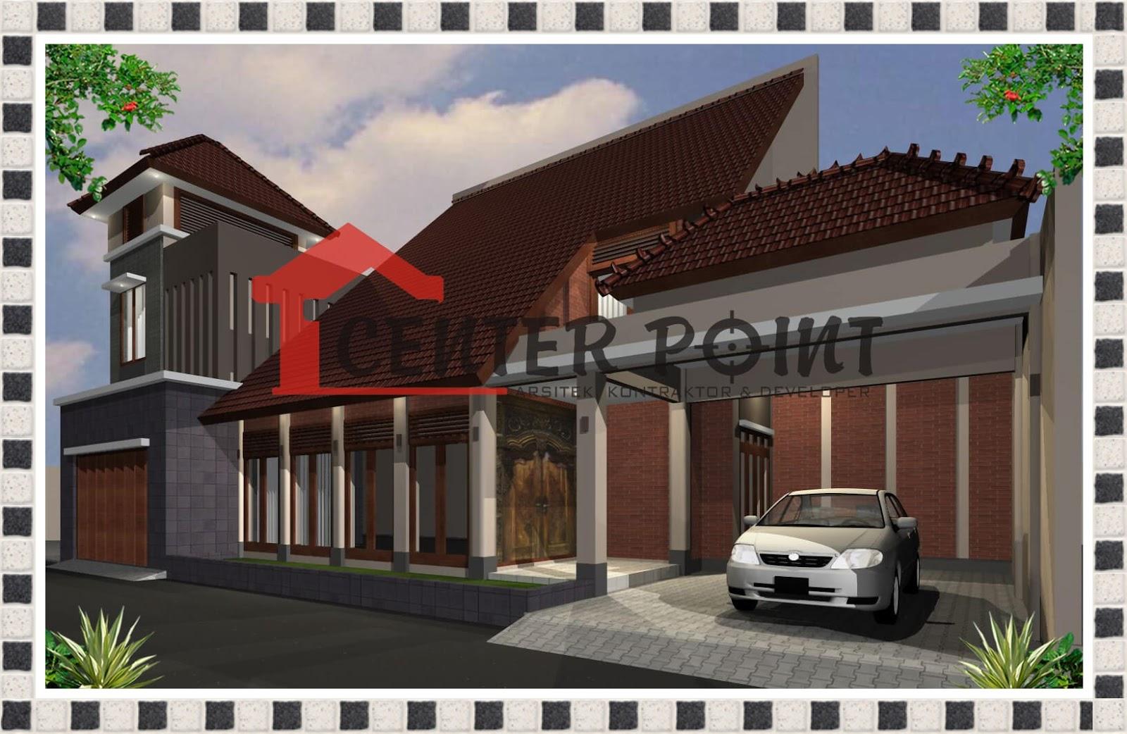 Denah Rumah Adat Betawi arsitektur tradisional rumah