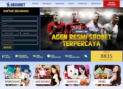 SBOSBET.COM AGEN SBOBET TERPERCAYA INDONESIA