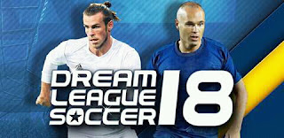 Download Game Dream League Soccer 2018 MOD APK Terbaru