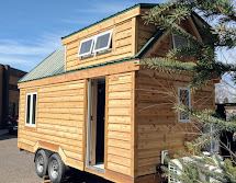 Tiny House Town Breath Easy Green Cabins