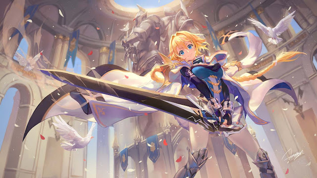 Cuplikan Opening Song Anime Han-Gyaku-Sei Million Arthur Season 2
