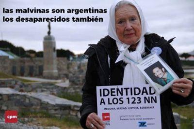 La Comisión Provincial por la Memoria llegó a Malvinas