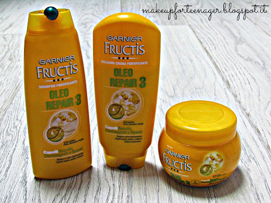 Garnier Fructis Oleo Repair 3 Review