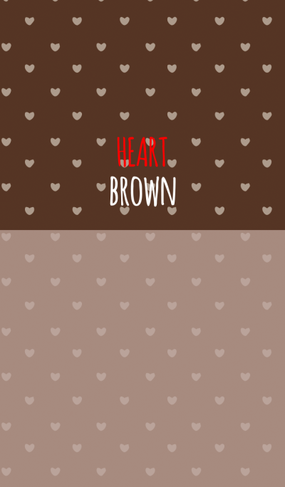 BROWN 1 (HEART)