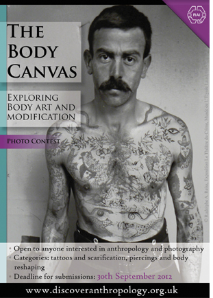 The Body Canvas photography - Le Blog du corps