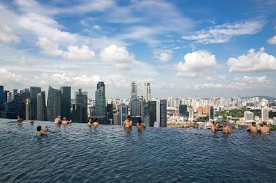 Bể bơi vô cực SkyPark