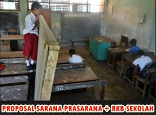 Proposal Pengajuan Sarana Prasarana + RKB sekolah lengkap