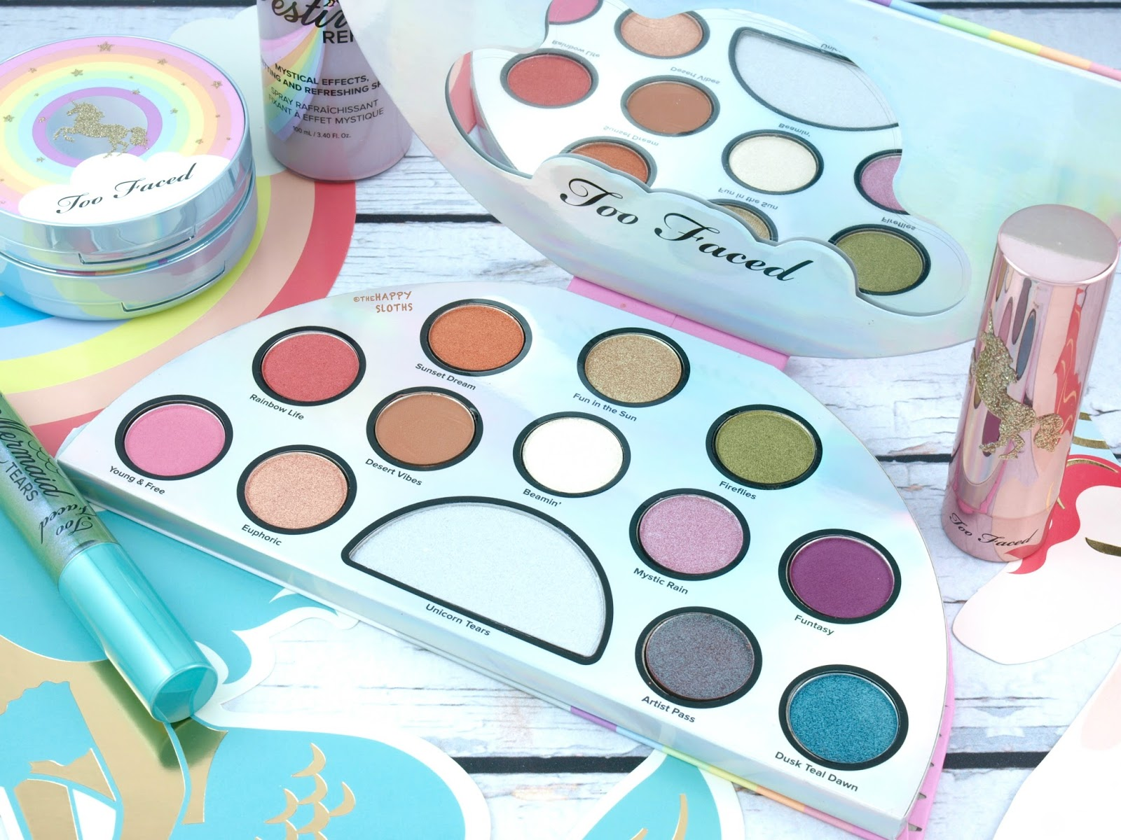 Too Faced | Life's A Festival Eyeshadow Palette: Review and Swatches