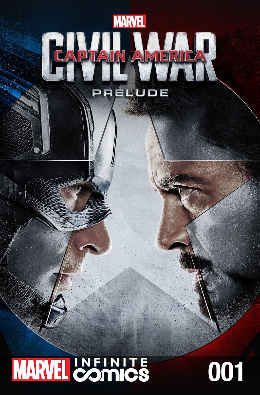 Read online Captain America: Civil War Prelude (Infinite Comics) comic -  Issue # Full - 1
