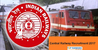 Central Railway Recruitment 2017 - Apply for Para-Medical Staff