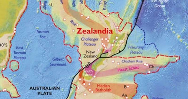 Geologists Discover Hidden Lost Continent Under New Zealand?