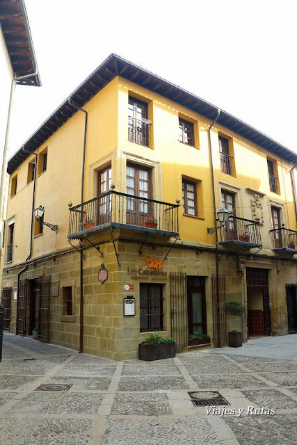 Calle Mayor de santo Domingo de al Calzada, La Rioja