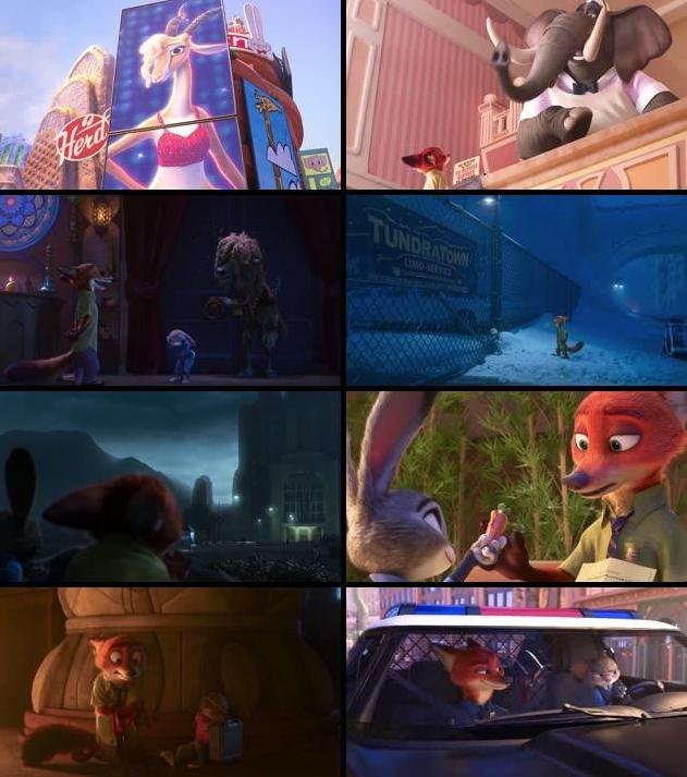 Zootopia 2016 English 720p HDRip 800MB ESubs