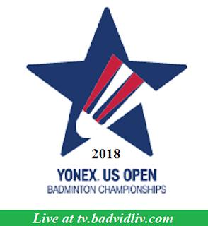 YONEX US Open 2018 live streaming