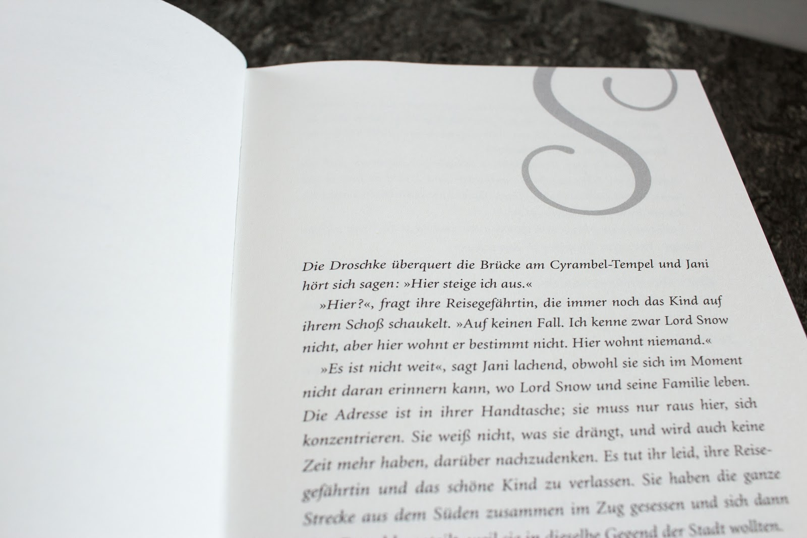 Schattendiebin von Catherine Egan - erste Seite