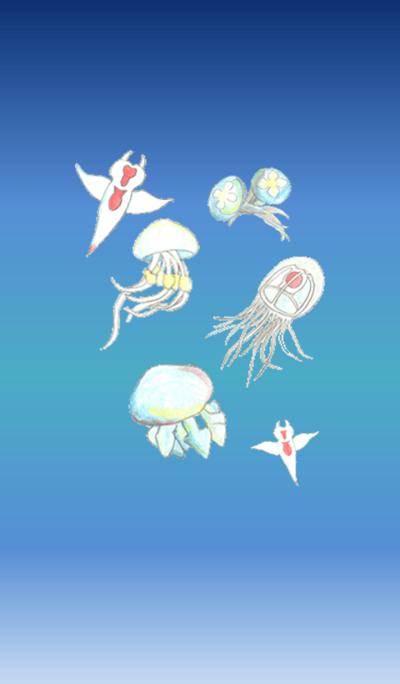 jellyfish&Clione