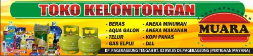 Template Banner Toko Kelontong - desain banner kekinian