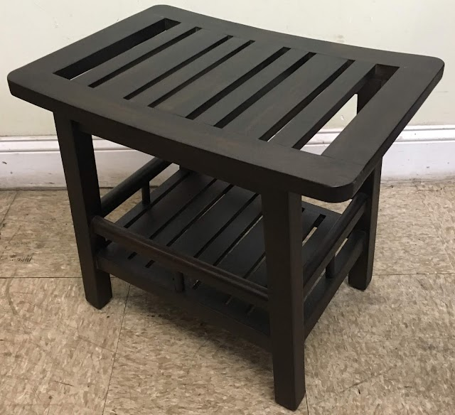 Small Bench with Lower Shelf - $20