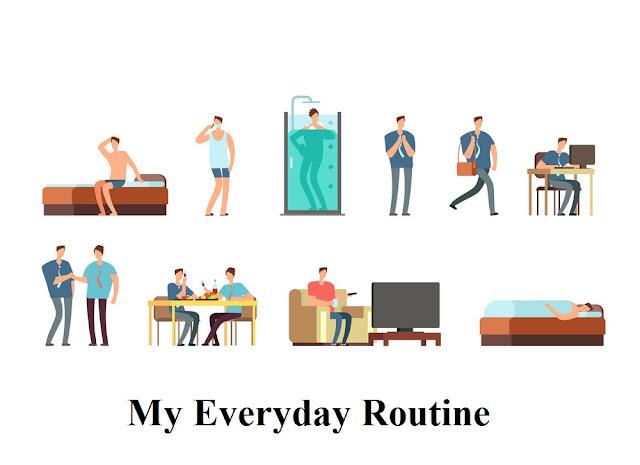 My Everyday Routine - Sourajit Saha