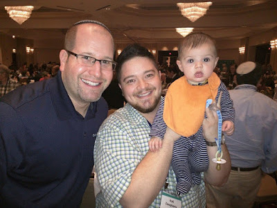 Rafi Daugherty and Rabbi Jason Miller