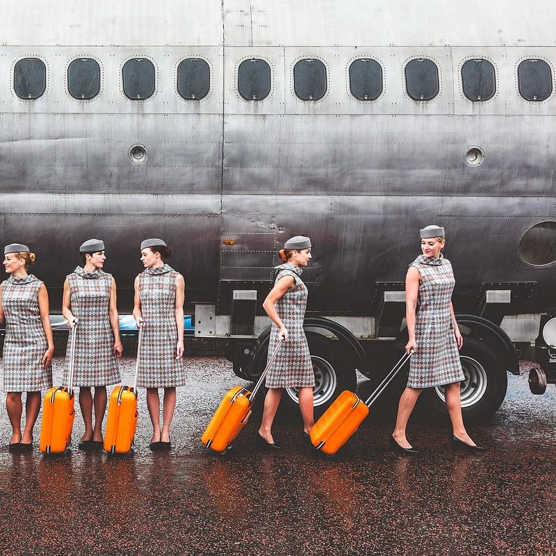 Vintage Stewardess Uniforms 44