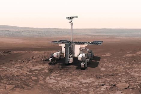 """صحراء أرفود تشعل """"سباق الفضاء"""" والعوالم المحيرة لكوكب المريخ"""