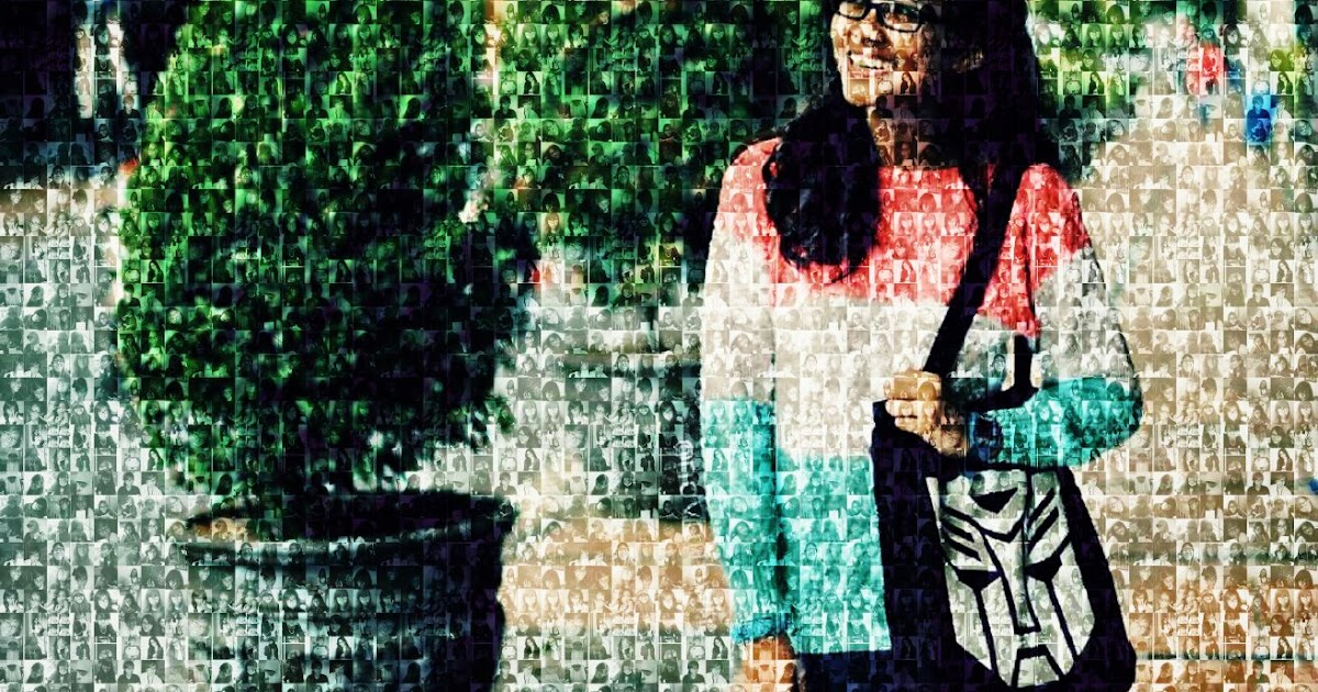 Scrapventure: Mengedit Foto Menggunakan PicsArt : Mosaic